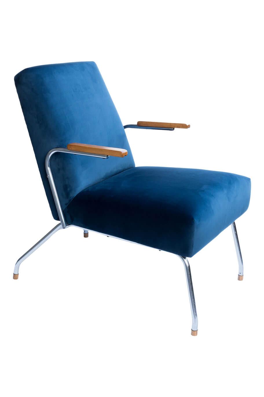 Bauhaus Armchair From Steel Furniture Factory In Zadziele Hemma
