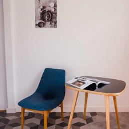 Stolik kawowy projektu Hanny Lachert