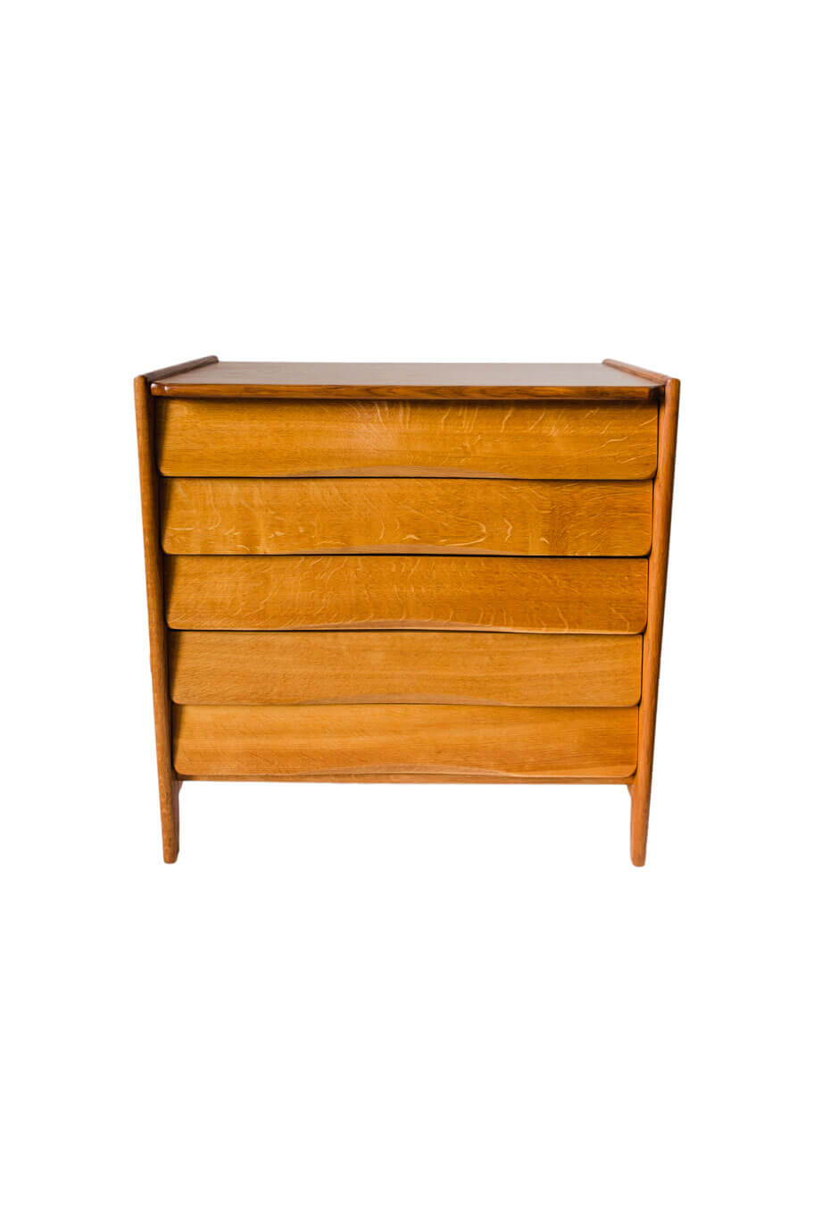 Chest of drawers designed by I. Sternińska for ŁAD Cooperative