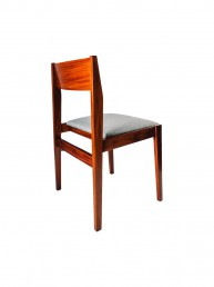 Tekowe krzesła niemieckie