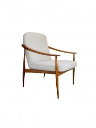 fotel czechosłowacki modernistyczny