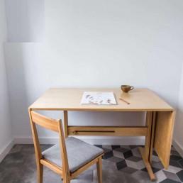 Desk designed for ŁAD Cooperative